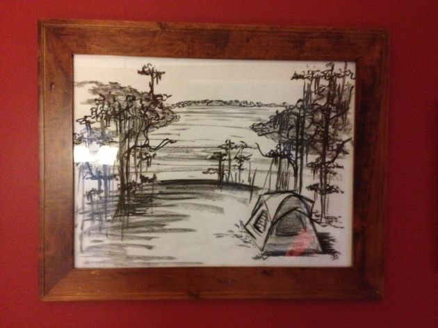 Fort Wilderness Campsite Sketch