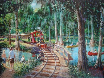 Fort Wilderness Train